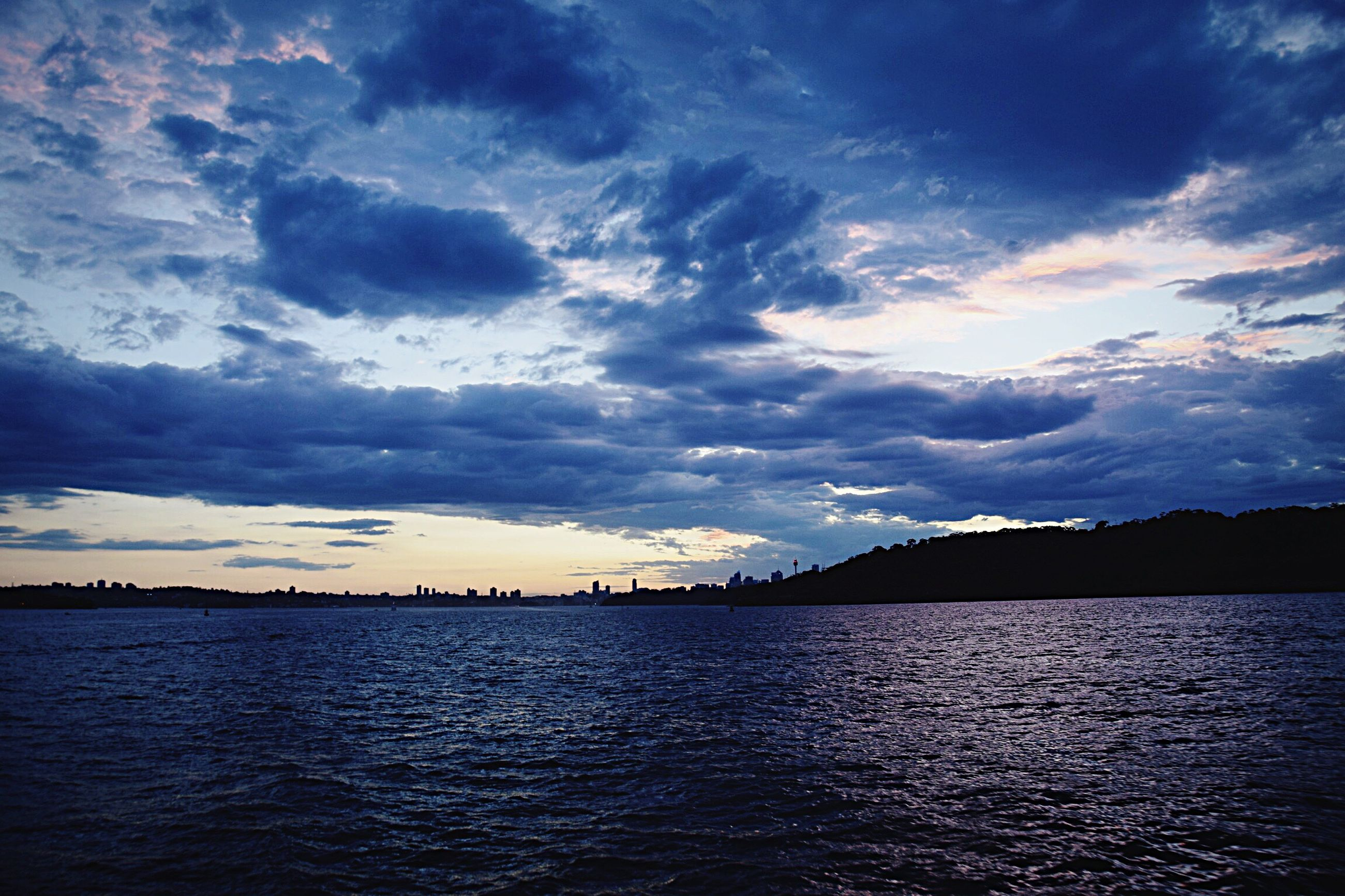 cloud - sky, beauty in nature, sky, sea, reflection, scenics, awe, dramatic sky, idyllic, outdoors, no people, sunset, tranquil scene, nature, tranquility, water, storm cloud, day