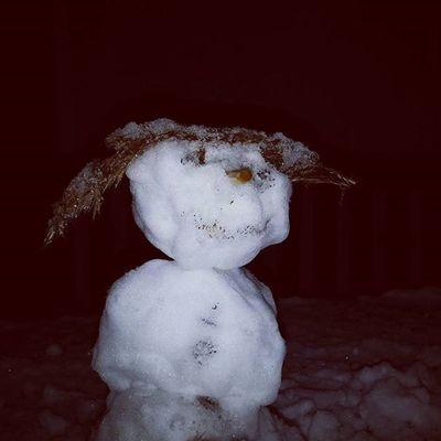 Snow Snowman Germany Berlin