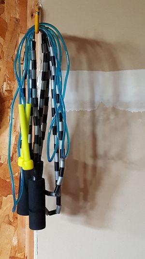 Close-Up Of Skipping Ropes