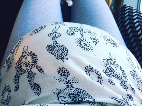 Textile No People Pattern Close-up Embroidery Indoors  Day Mother & Daughter Mother Nature Child Woman Pregnant Pregnancy Lopsided Babybump Women Baby Babygirl
