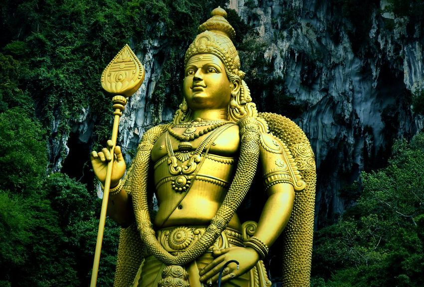 Lord Murugan Limestone Hill Thaipusam2016 Districtofgombak Selangor, Malaysia BatuCavesHinduTemple
