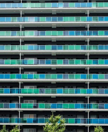 Facade Of Apartment Building