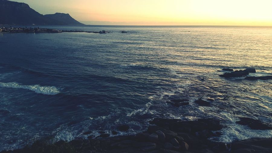 Camps Bay Sunset Capetown Beachphotography Nature First Eyeem Photo