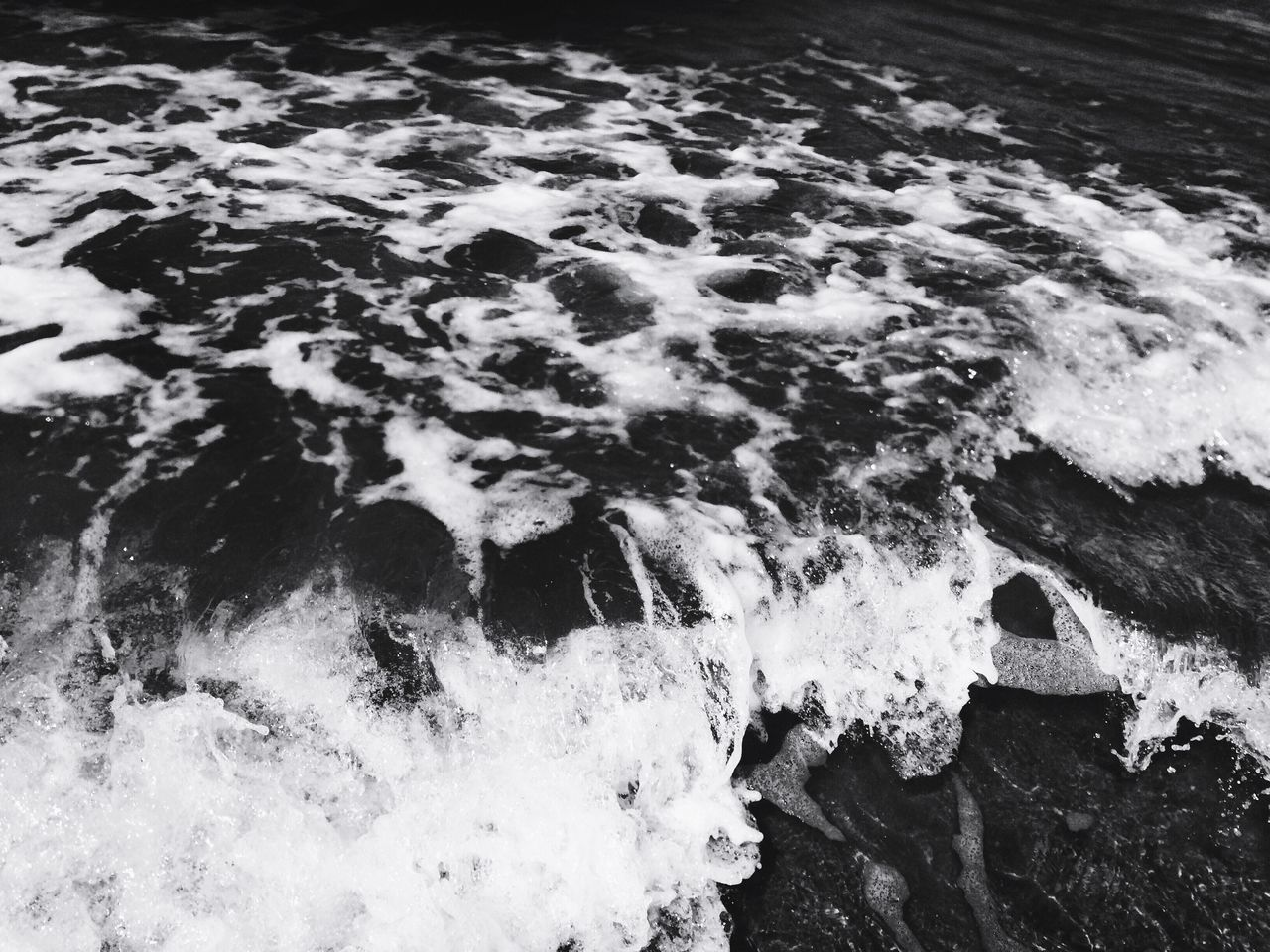 water, motion, wave, nature, high angle view, no people, day, outdoors, sea, beauty in nature, power in nature, close-up