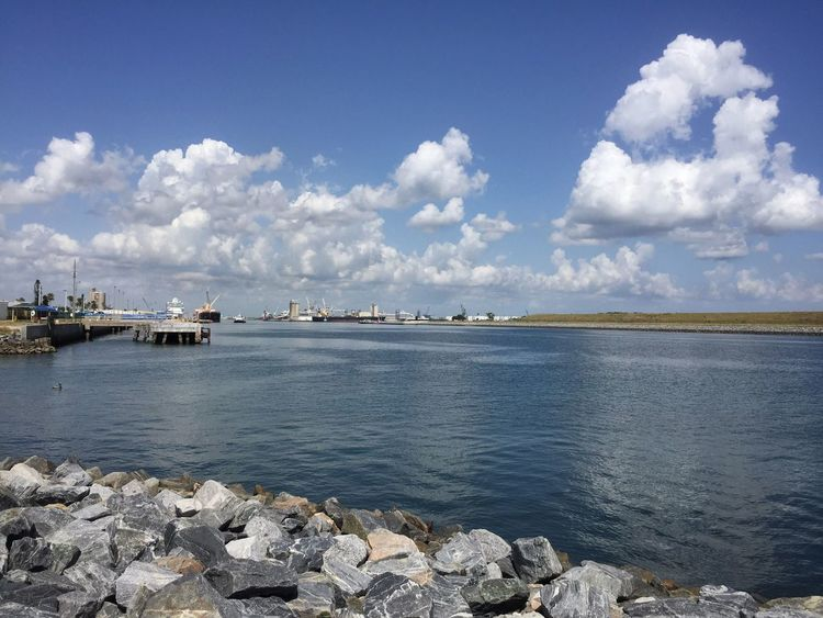 Port Canaveral Jetty Park Port Canaveral Canaveral Florida Inlet