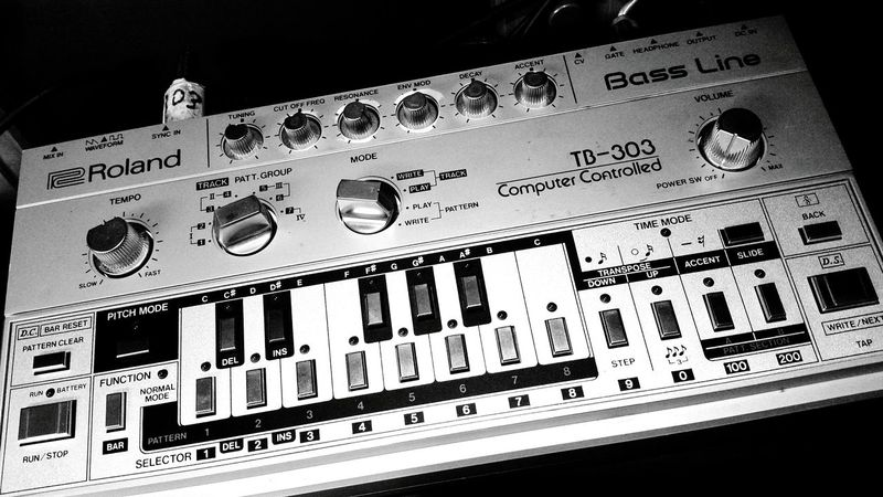Acid forever !! My 303 Roland Tb 303 303 Techno Acid Electronic Electro Groove Beats Basses