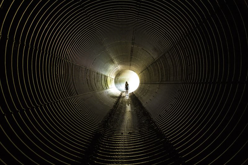Exploring New Ground Tunnel Vision into the unknown 6 Silhouette Series OpenEdit Explore Tunnel Endlessness