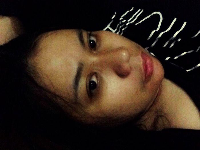 Goodnight Real People Sleep Frist Time On EyeEm MyRoom Selfie ✌