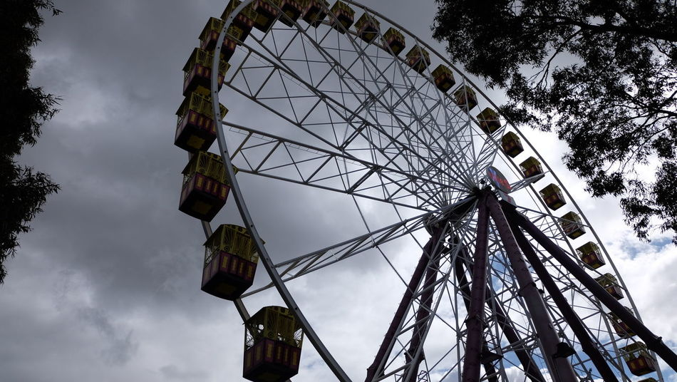 Australia Black Cloudy Sky Cloud - Sky Fade To Black Ferris Wheel Gonna Rain Grey Mood... Melbourne Melbourne Show Ground No Sunny Sky Trowback Welcome To Black