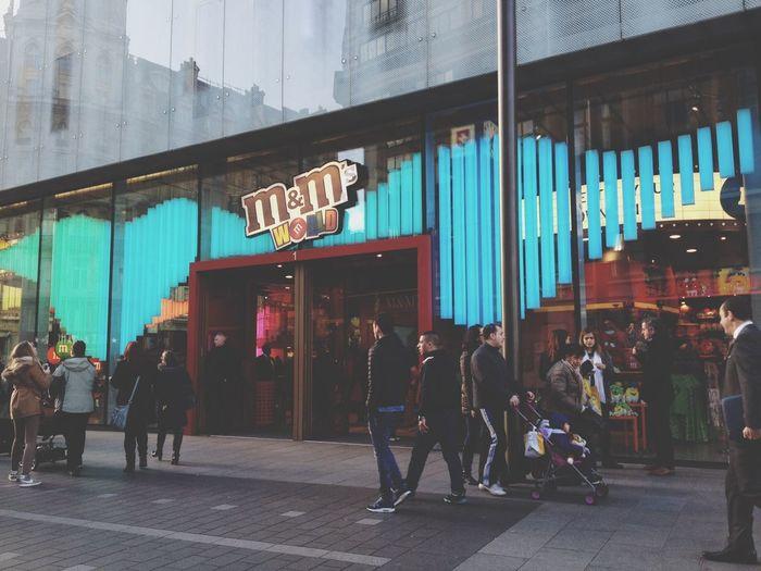 M&ms M&m's M&msworld London