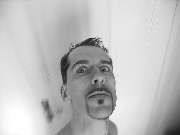 The New Self-Portrait That's Me Face Self-portrait My Face Schwarz & WeißBlack And White Photography Berlin Shades Of Grey