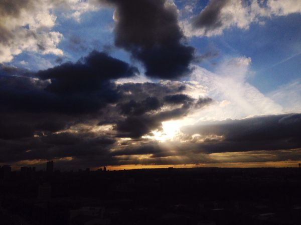 Sun Sunset Clouds Sonya7 Eastend London Rays