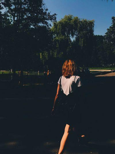 Leisure Activity Walking Sunlight Outdoors City