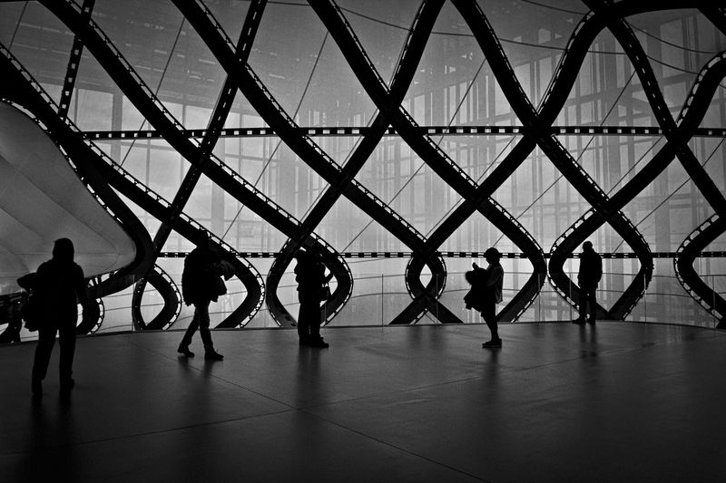 Adult Architecture Day Indoors  Leisure Activity Lifestyles Medium Group Of People Men People Real People Sky Women Stories From The City Adventures In The City Focus On The Story The Architect - 2018 EyeEm Awards The Street Photographer - 2018 EyeEm Awards Creative Space A New Perspective On Life