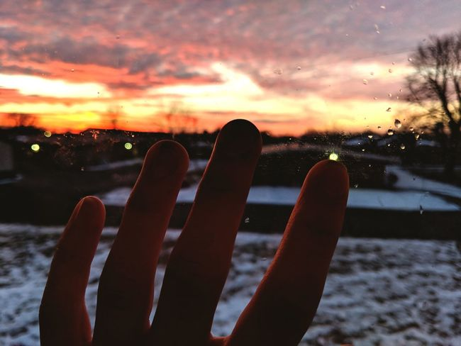 Winter Weather Cloud - Sky Cold Temperature Sunset Snow Nature Water No People Sky Close-up Outdoors Day