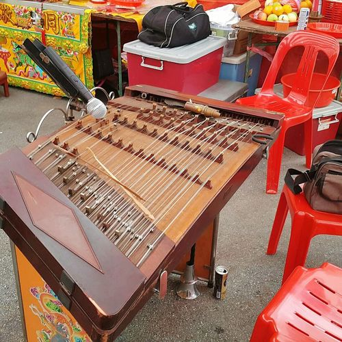 Music Musical Instrument Arts Culture And Entertainment No People Indoors  Day Yangqin Chinese Culture Traditional Chinese Festival Malaysian Street Religion Festival