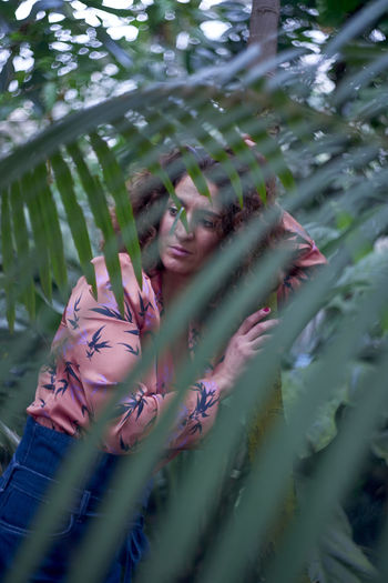 Botanic Garden Botanical Gardens Fashion Holiday Nature Woman Back To Nature Jungle Mature Woman Naturelovers Sensual_woman Tropical Climate