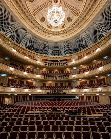 Staatsoper Berlin Architecture Indoors  Cultures Stage Theater Chair Arts Culture And Entertainment Stage - Performance Space Auditorium Concert Hall  No People Berlin Photography Berlin Staatsoper Staatsoper Berlin