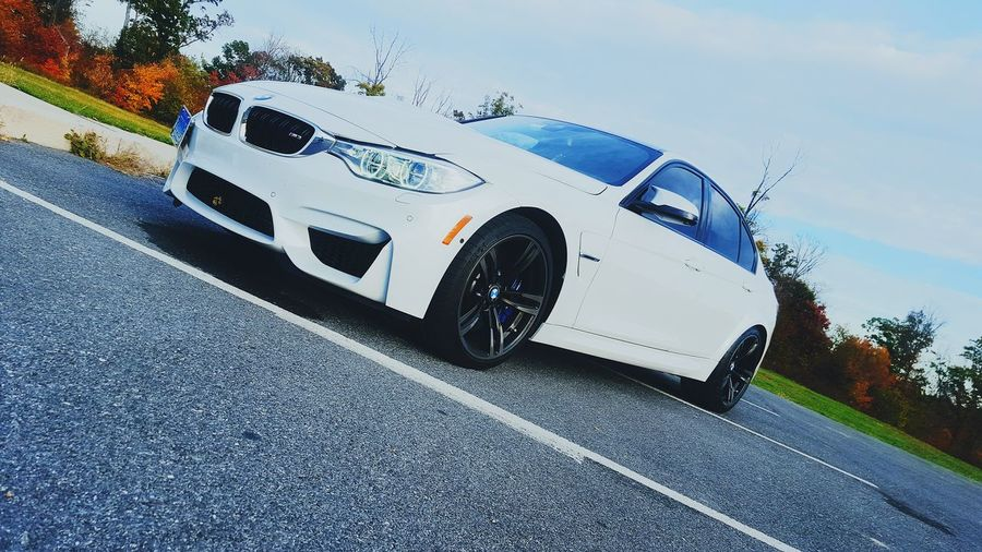 Got the baby's windows tonted today Tint M3 2015  M4 Twinturbo