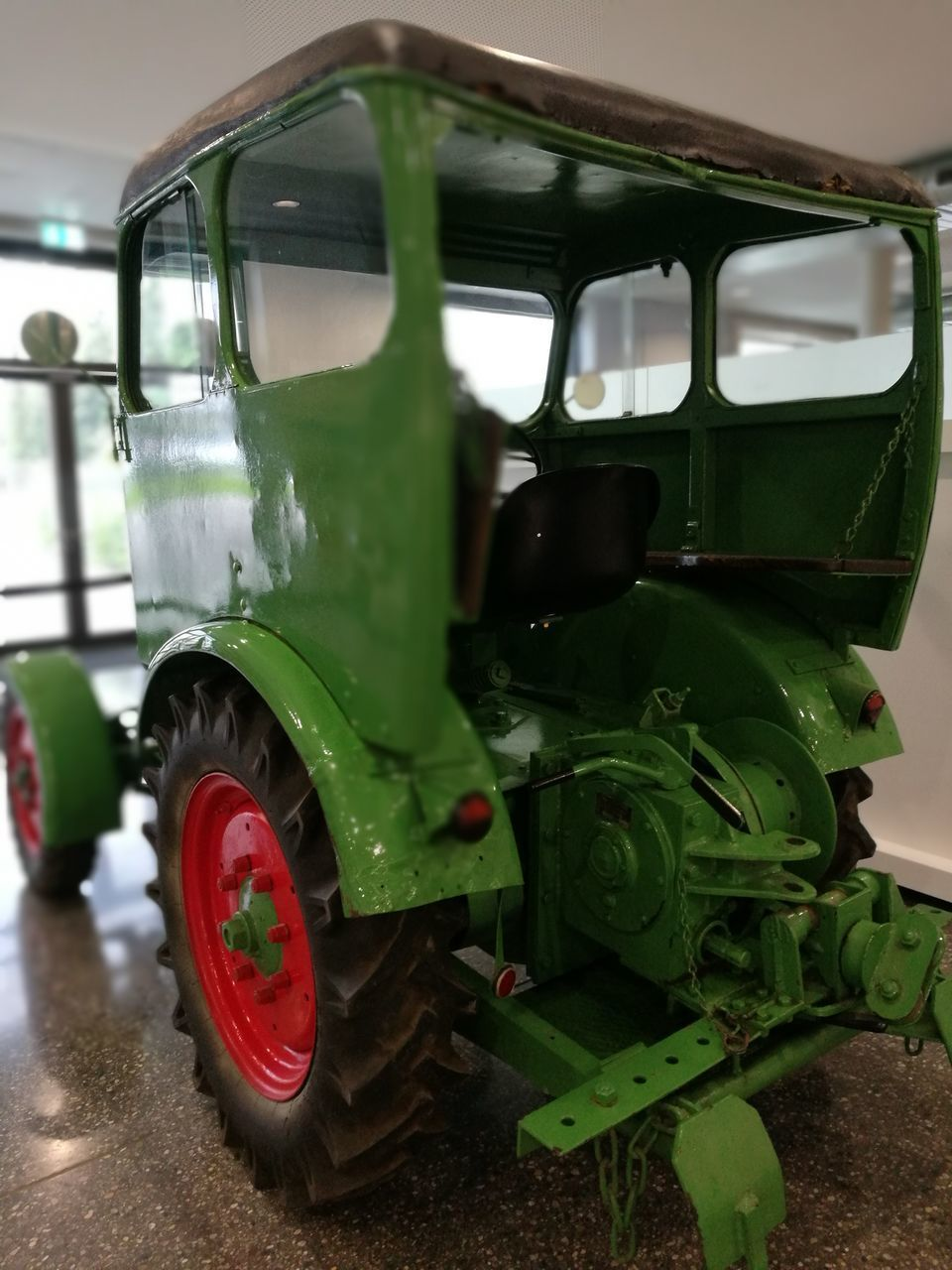 green color, transportation, land vehicle, mode of transport, no people, stationary, day, outdoors, close-up