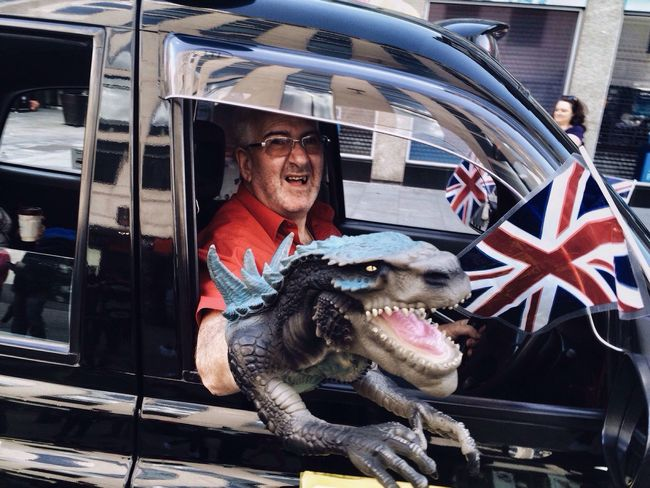 T-Rex taxi The Street Photographer - 2016 EyeEm Awards