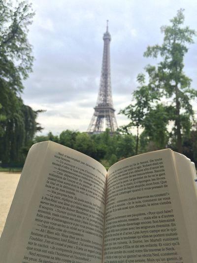 Paris Eiffel Tower Relaxing