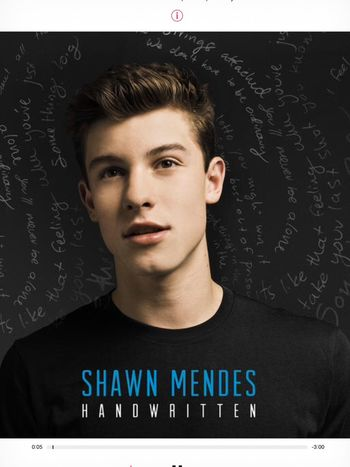 Shawn Mendes My Babe his first album so proud of him 👍👏, he is so hot🔥 i love him so much 😍💘
