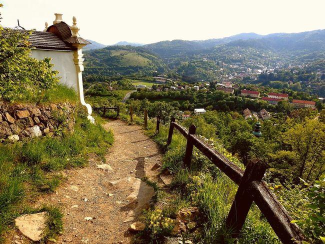 The way Way Ways Cesta Slovakia Banská štiavnica BanskáŠtiavnica Church Town Town Nature