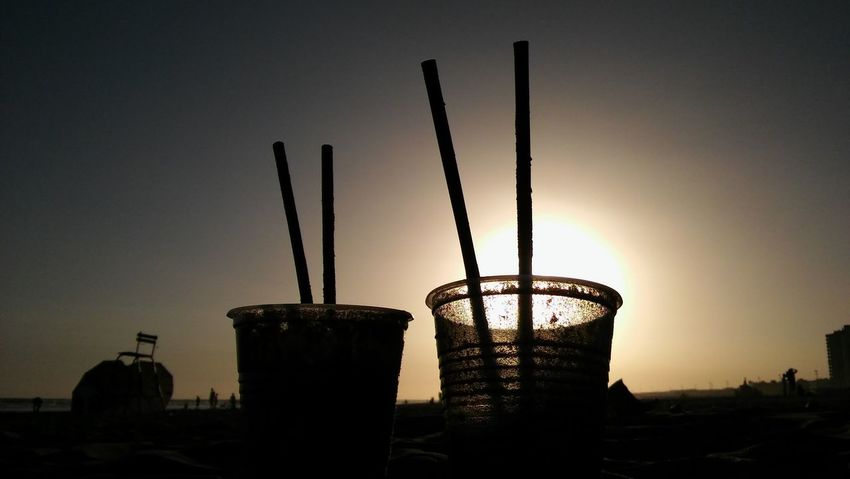 Beach Day Drinks Frozen Drinks Nature Necochea. Argentina No People Outdoors Sand Sky Summer Drinks