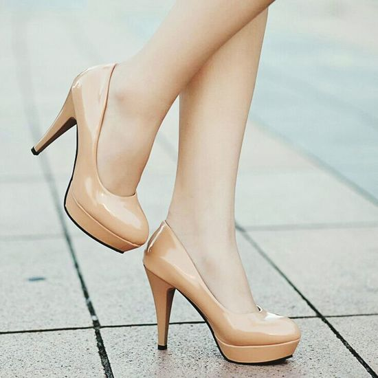 Shoes Shoes ♥ High Heels People Young Women Women Only Women Love
