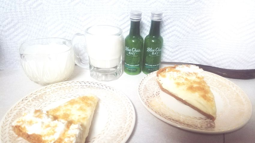 Key lime rum with some key lime pie Food And Drink Drink Indoors  Food Table Drinking Glass Refreshment Plate Healthy Eating No People Freshness Ready-to-eat Day