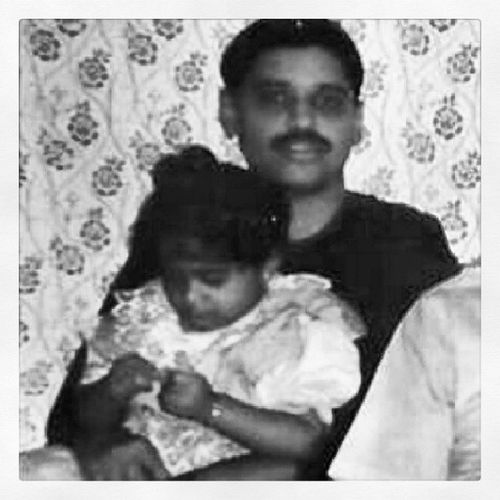 Even then, I was different from the rest.. Childhoodpic MeAndDad Missthosedays Instaglam igers instaswag instagramaddicts