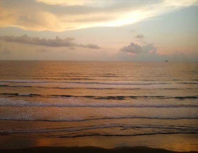 Veracruz Mexico Ocean View Oceanside Ocean Shores Seaside Travel Photography Water Low Tide Wave Sea Sunset Beach Sand Multi Colored Horizon Tide Coast Seascape Romantic Sky Coastline