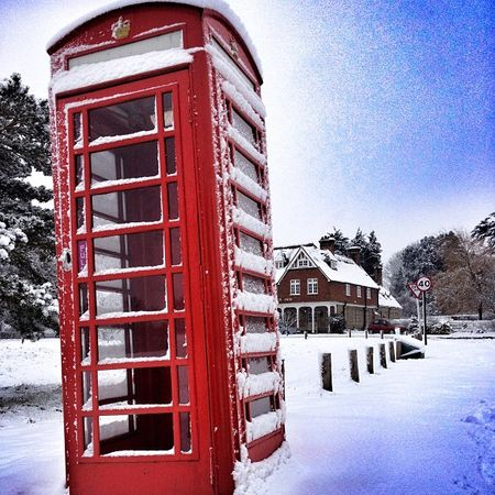Shipbourne Kent The Chaser pub red telephone box