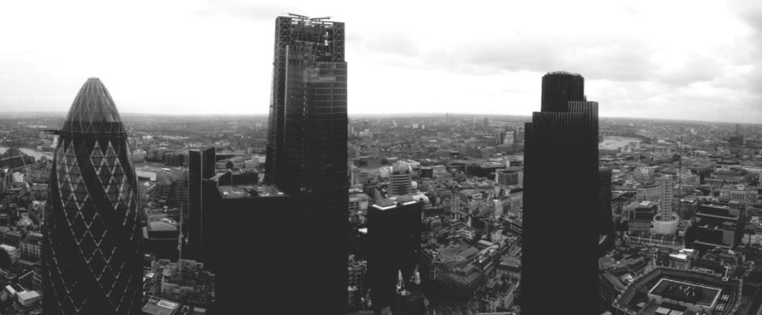 London Heron Tower View