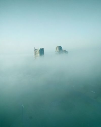 fog covering