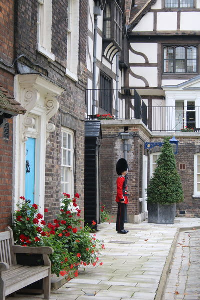 Architecture British Guard Building Exterior Built Structure Duty Flower Guard London Outdoors Queen's Guard Residential Building Standing Standing Watch