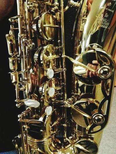 Sax Saxophone Music Musical Instruments Gold Keys Madreperla Ottone Musica Instrument