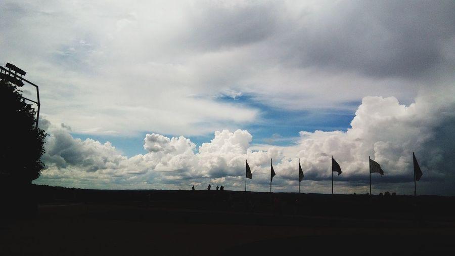 Les nuages chez Château de Villandry First Eyeem Photo