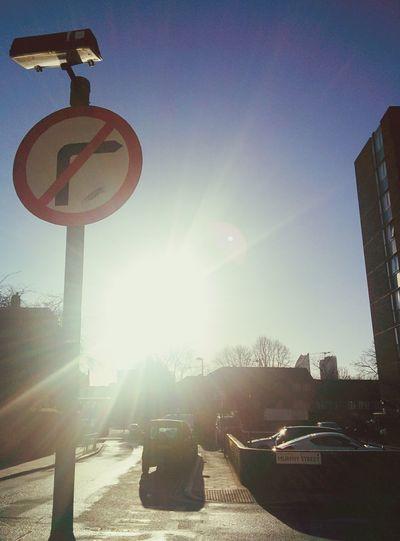 No right turn! Hello World