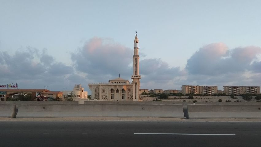 Mosqu, Diana Beach, North Coast, Egypt City Politics And Government Place Of Worship Urban Skyline Cityscape History Sky Architecture Cloud - Sky Built Structure
