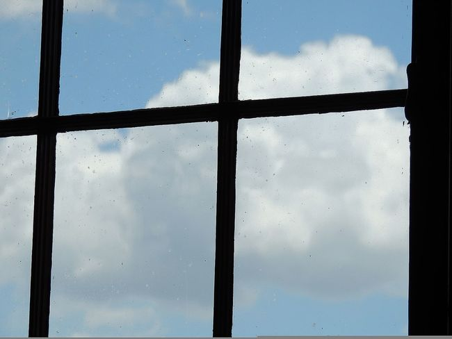 Window view Window Cloud - Sky Indoors  Day Sky No People Outdoors Summer