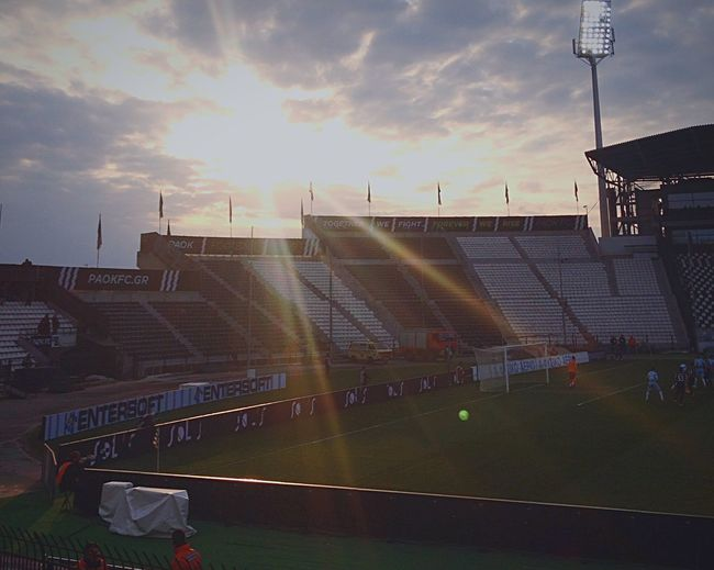 Goal Game Soccer Skg The Places I've Been Today Paokfc Paok Toumpa Stadium Thessaloniki