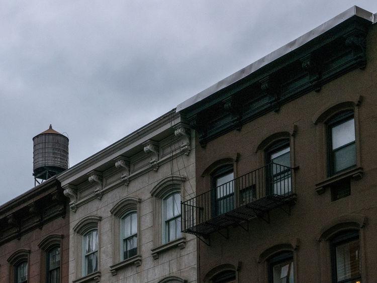 Architecture Building Exterior City Façade Gramercy NYC Water Tank Windows