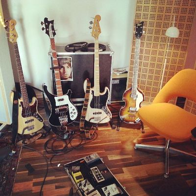 TFJ Studiotag 1 Thefogjoggers Bass Studio