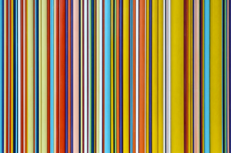 Color your day Colors Colorful colour of life Paris La Défense Architecture Pattern Multi Colored Backgrounds Full Frame No People Close-up Yellow In A Row Abstract Variation Indoors  Choice Studio Shot Repetition Large Group Of Objects Striped Vibrant Color Simplicity Industry Pencil My Best Photo British Culture