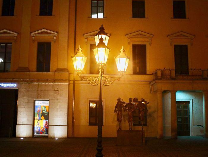 Illuminated Architecture Lighting Equipment Night Built Structure Window Building