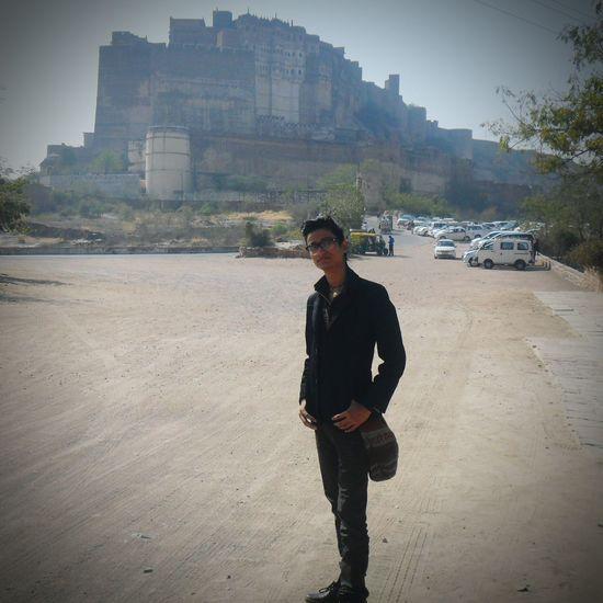 At mehrangadh fort.. 😊😉😉 First Eyeem Photo