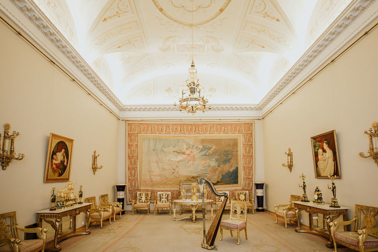 winter palace Winter Palace, Saint Petersburg Indoors  Architecture Seat No People Domestic Room Absence Empty Chair Furniture Paintings Home Interior Built Structure Building Art And Craft Paint Ceiling Wall - Building Feature Frame Lighting Equipment Table Flooring Tiled Floor