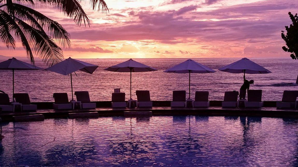 Bali island Hello World Travel Photography Sunrise巴厘岛 海景 晨曦